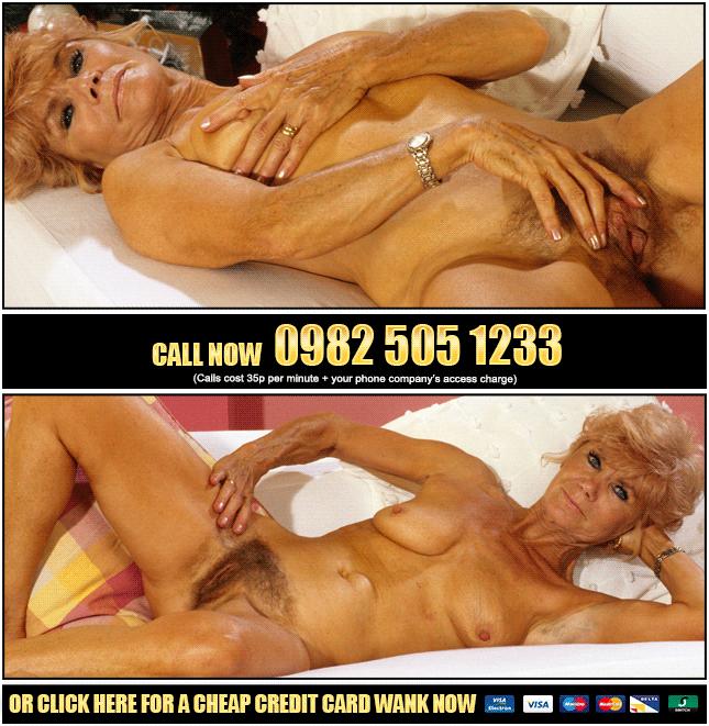 Horny Granny Phone Sex